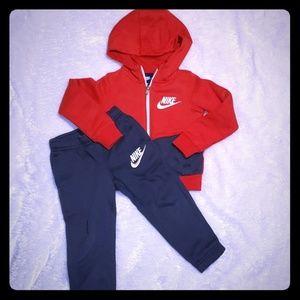Nike sweatpants and jacket set 3T